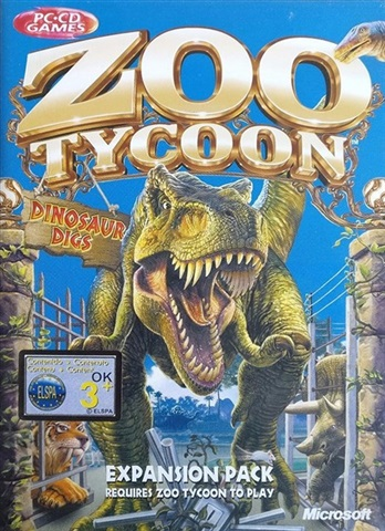 Zoo Tycoon Dinosaur Digs Expansion Pack - CeX (IE): - Buy