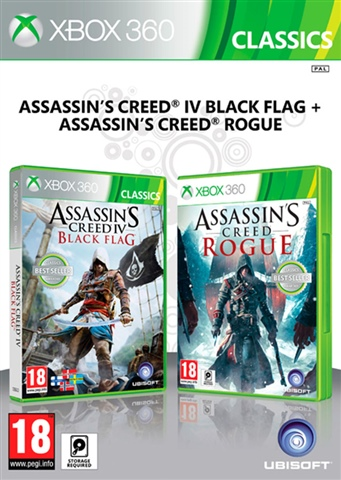 Assassin S Creed Iv Black Flag Assassin S Creed Rogue 3 Disc